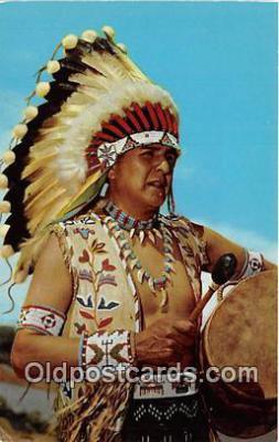 ind300062 - Blue Sky Eagle, Ceremonial Dress Pueblo Indians Postcard Post Cards