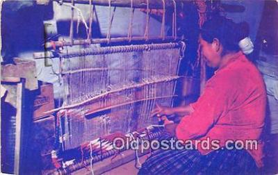 ind300185 - Navajo Rug Weaver  Postcard Post Cards
