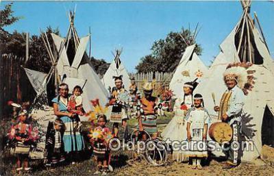 ind300189 - Indian Village  Postcard Post Cards