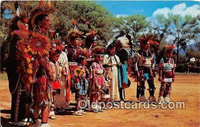ind300208 - Indian Dance Group Photo by Harvey Caplin Postcard Post Cards