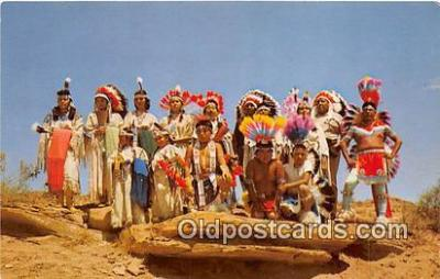 ind300266 - Indians in Ceremonial Dress  Postcard Post Cards