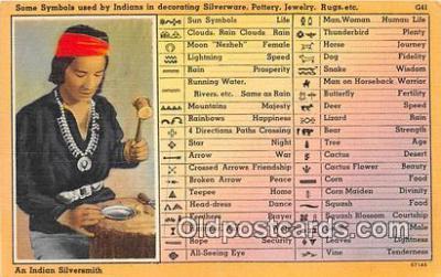 ind300282 - Indian Symbols  Postcard Post Cards