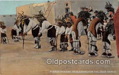 Pueblo Indians, Deer Dance