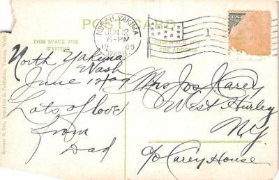 ind402045 - Indian Old Vintage Antique Postcard Post Card  back