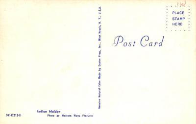 ind402055 - Indian Old Vintage Antique Postcard Post Card  back