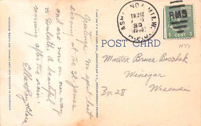 ind402057 - Indian Old Vintage Antique Postcard Post Card  back