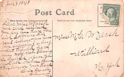 ind402081 - Indian Old Vintage Antique Postcard Post Card  back