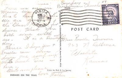 ind402149 - Indian Old Vintage Antique Postcard Post Card  back