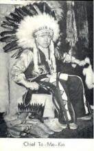 ind000018 - Chief To-Me-Kin, Indian, Indians, Postcard Postcards