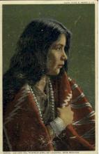 ind000029 - Lo-Lee-Ta, Pueblo Girl of Laguna, New Mexico, Indian, Indians, Postcard Postcards
