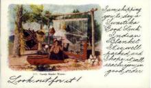 ind000040 - Navajo Blanket Weaver, Indian, Indians, Postcard Postcards