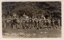 ind000216 - Men of Antrim, Sesqui-Centennial, Antrim, New Hampshire, USA 1927 Indian, Indians Postcard Postcards