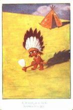 ind000267 - Indian, Indians Postcard Postcards