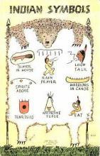 ind000304 - Indian, Indians Postcard Postcards