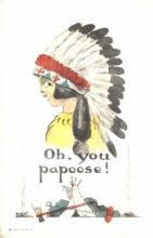ind000308 - Indian, Indians Postcard Postcards