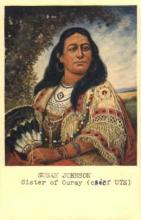 ind000328 - Susan Johnson, Sister of Ouray (Chief UTE) Indian, Indians Postcard Postcards