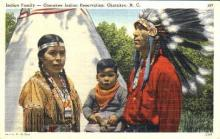 ind000334 - Cherokee N.C. USA, Indian, Indians Postcard Postcards
