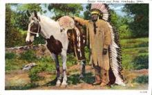 ind000350 - Indian, Indians Postcard Postcards