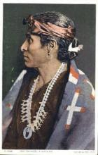 ind000389 - Tom Ganado, Navajo Indian, Indians Postcard Postcards