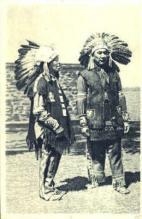ind000398 - Indian, Indians Postcard Postcards
