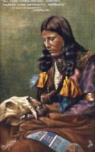 ind000399 - Indian, Indians Postcard Postcards