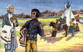 ind000425 - L.H. Larson,  Indian, Indians Postcard Postcards
