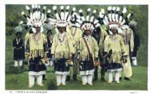 ind000427 - Pueblo Dancers Indian, Indians Postcard Postcards