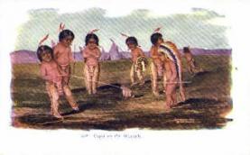 ind000431 - Indian, Indians Postcard Postcards