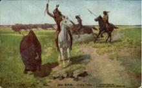 ind000450 - Artist Charles CraigIndian, Indians Postcard Postcards