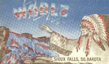 ind000467 - Sioux Falls, So. Dakota, USA Non-postcard backing' Sioux Falls, So. Dakota, USA Indian Postcard Postcards