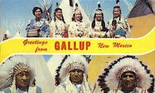 ind000468 - Gallup New Mexico, USAGallup New Mexico, USA Indian Postcard Postcards
