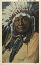 ind000493 - An Arapahoe Indian Chief Indian, Indians Postcard Postcards