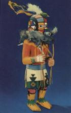ind000513 - Hopi Kachina Doll Indian, Indians Postcard Postcards