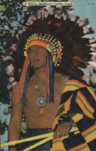 ind000520 - A native Oklahoma Indian Youth Indian, Indians Postcard Postcards