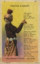ind000521 - Indian Lament Indian, Indians Postcard Postcards