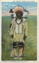 ind000523 - Dewey Beard Indian, Indians Postcard Postcards