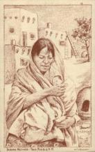 Indian mother, Toas Pueblo