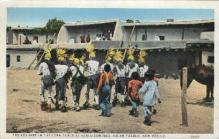 ind000569 - Corn Dance Santo Doming Indian Pueblo, New Mexico Indian, Indians Postcard Postcards