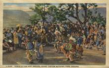 ind000570 - The hopi Indians, Grand Canyon National Park, Arizona, Usa Indian, Indians Postcard Postcards