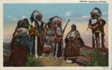 ind000576 - Oklahoma Indians, Usa Indian, Indians Postcard Postcards