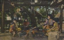 ind000583 - Cooking Seminole Indian Style Indian, Indians Postcard Postcards