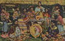 ind000592 - Seminole Indian Family Miami Florida, USA Indian, Indians Postcard Postcards