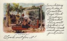 ind000600 - Navajo Blanket Weaver Indian, Indians Postcard Postcards
