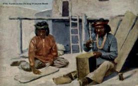 ind000602 - Pueblo Indian  Indian, Indians, Postcard Postcards