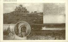 ind000604 - Summit house, Wachusett Mountain Indian, Indians, Postcard Postcards