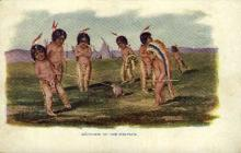 ind000617 - Cupid on the warpath Indian, Indians, Postcard Postcards