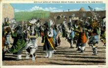 ind000624 - Near Santa Fe, New Mexico, USA Indian, Indians, Postcard Postcards
