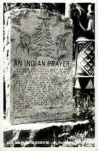 ind000665 - Prayer Indian, Indians, Postcard Postcards