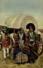 ind000685 - Navajo women, Native garb Indian, Indians, Postcard Postcards