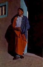 ind000697 - Jerry Mirable, Taos Indian, Indians, Postcard Postcards